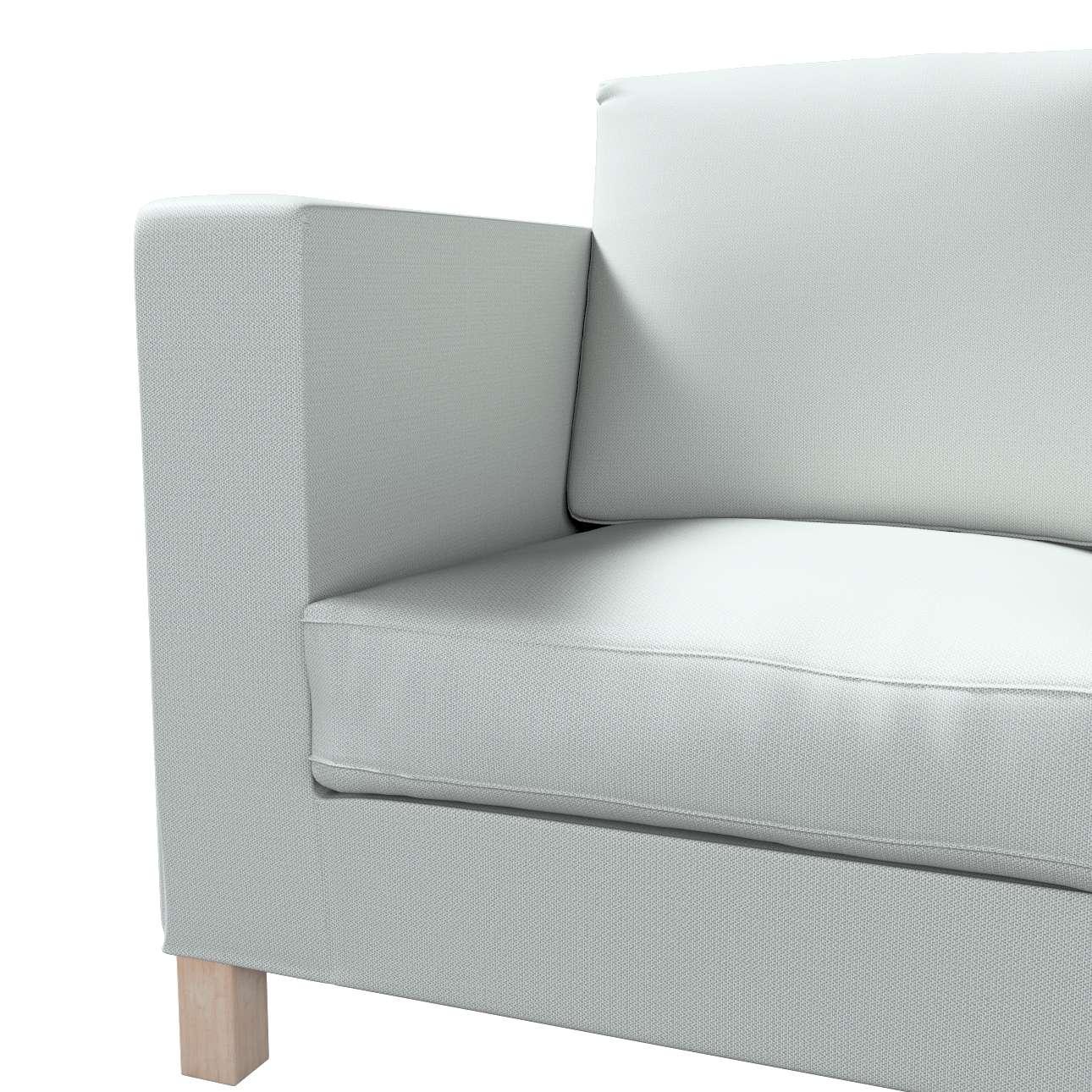Pokrowiec na sofę Karlanda 3-osobową nierozkładaną, krótki w kolekcji Bergen, tkanina: 161-72