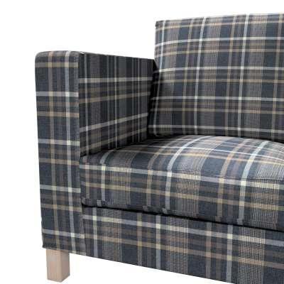 Pokrowiec na sofę Karlanda 3-osobową nierozkładaną, krótki w kolekcji Edinburgh, tkanina: 703-16