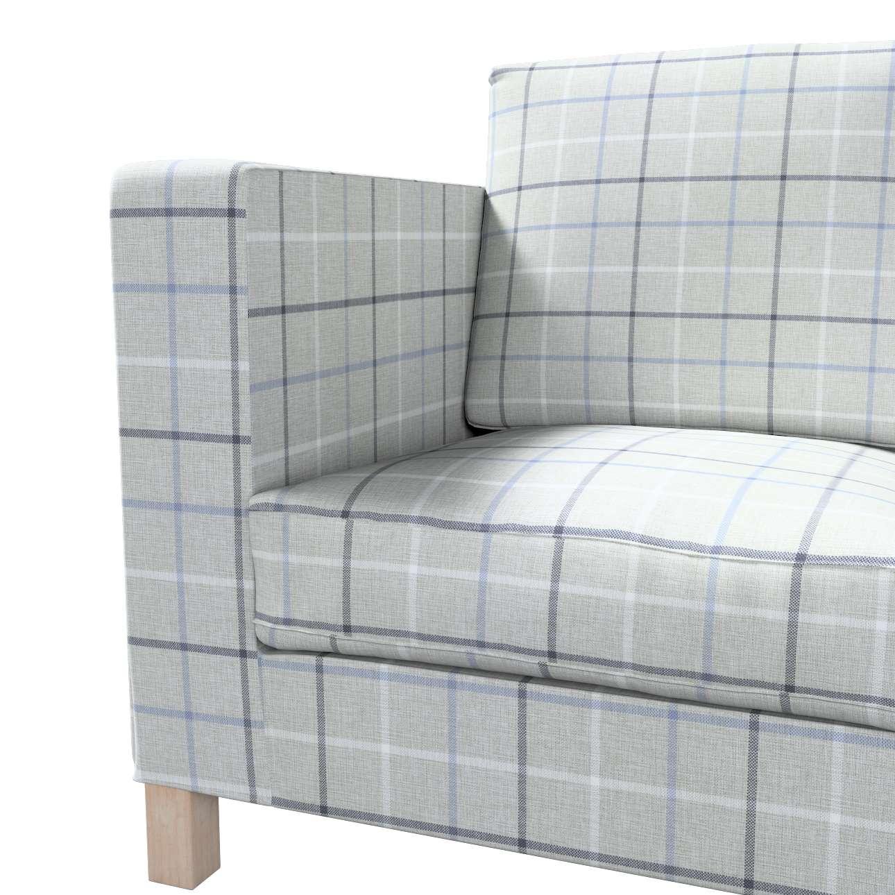 Pokrowiec na sofę Karlanda 3-osobową nierozkładaną, krótki w kolekcji Edinburgh, tkanina: 703-18