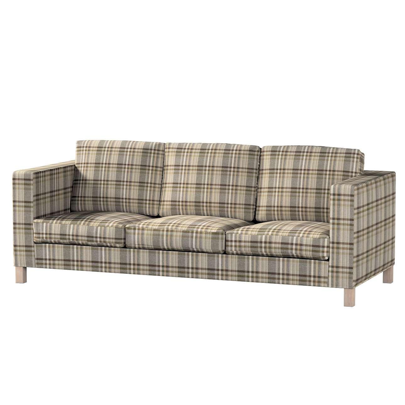 Potah na pohovku IKEA  Karlanda 3-místná nerozkládací, krátký v kolekci Edinburgh, látka: 703-17