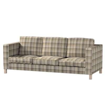 Karlanda klädsel <br>3-sits soffa - kort klädsel i kollektionen Edinburgh, Tyg: 703-17