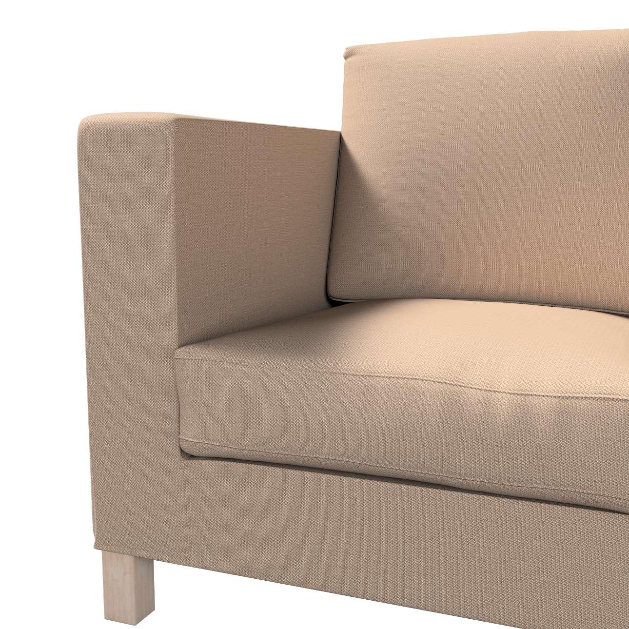 Pokrowiec na sofę Karlanda 3-osobową nierozkładaną, krótki w kolekcji Bergen, tkanina: 161-75