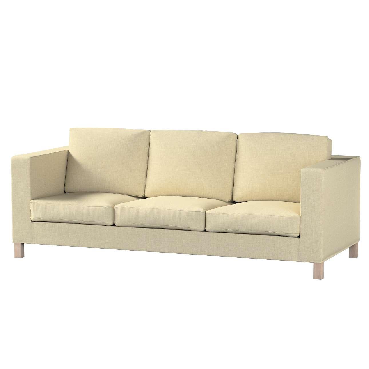 Karlanda klädsel <br>3-sits soffa - kort klädsel i kollektionen Living, Tyg: 161-45