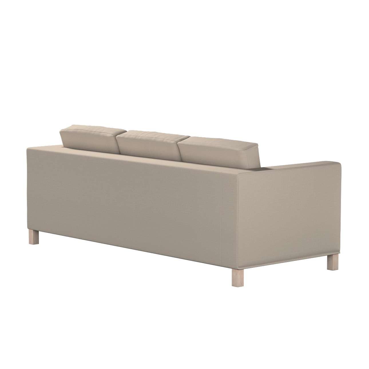 Bezug für Karlanda 3-Sitzer Sofa nicht ausklappbar, kurz von der Kollektion Living, Stoff: 161-53