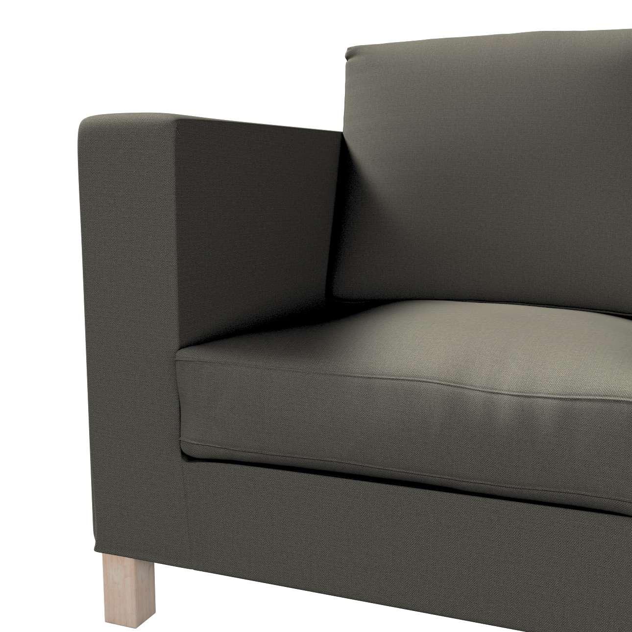 Pokrowiec na sofę Karlanda 3-osobową nierozkładaną, krótki w kolekcji Living, tkanina: 161-55