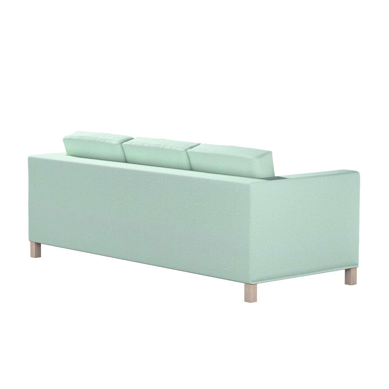 Bezug für Karlanda 3-Sitzer Sofa nicht ausklappbar, kurz von der Kollektion Living, Stoff: 161-61
