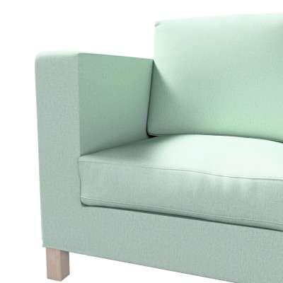 Pokrowiec na sofę Karlanda 3-osobową nierozkładaną, krótki w kolekcji Living, tkanina: 161-61