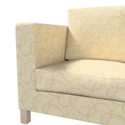 Karlanda klädsel <br>3-sits soffa - kort klädsel i kollektionen Living, Tyg: 161-81