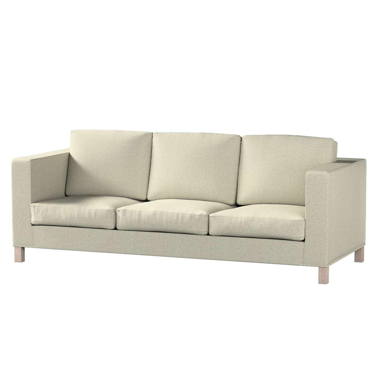 Bezug für Karlanda 3-Sitzer Sofa nicht ausklappbar, kurz von der Kollektion Living, Stoff: 161-62