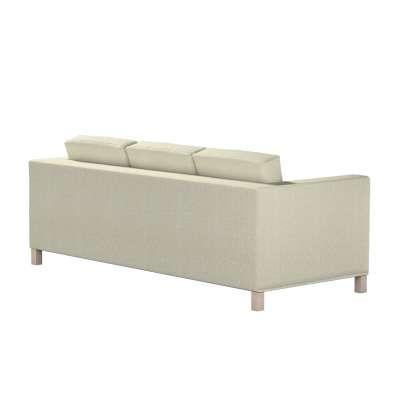 Pokrowiec na sofę Karlanda 3-osobową nierozkładaną, krótki w kolekcji Living, tkanina: 161-62
