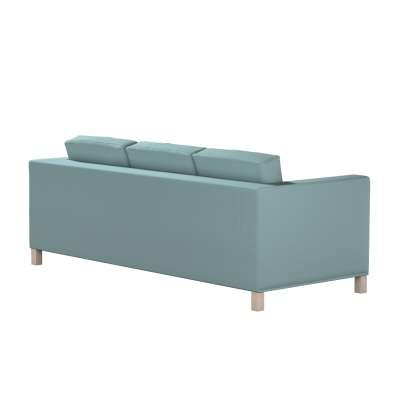 Bezug für Karlanda 3-Sitzer Sofa nicht ausklappbar, kurz von der Kollektion Cotton Panama, Stoff: 702-40