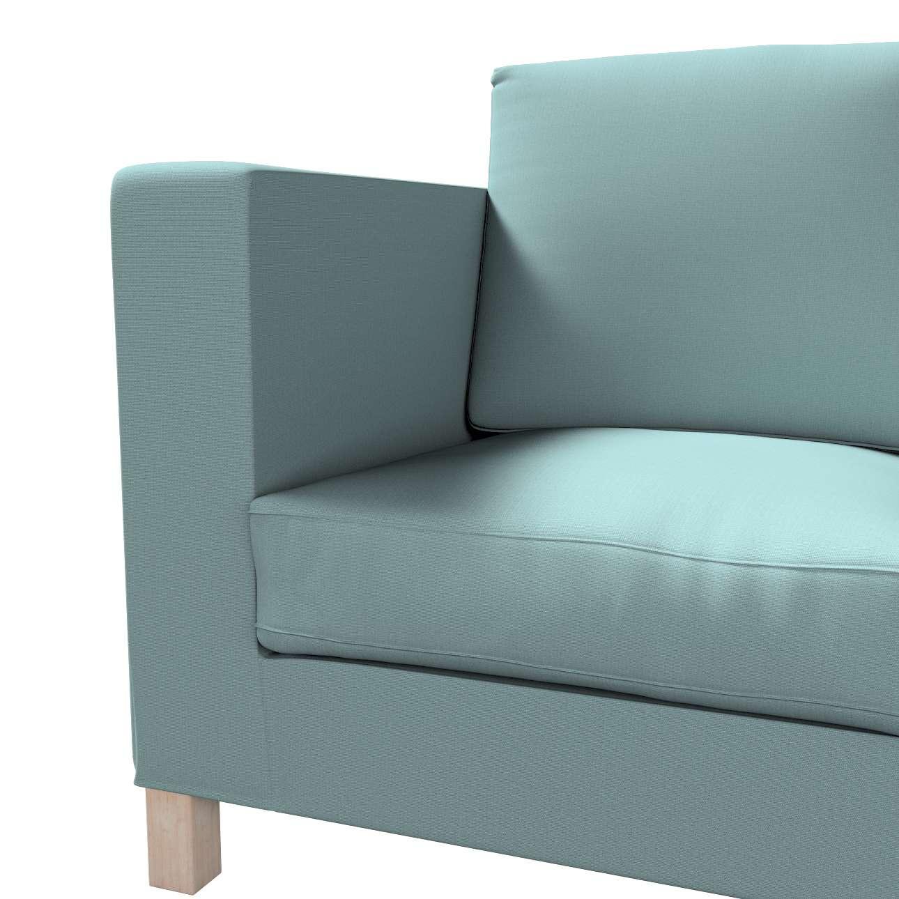 Karlanda betræk 3 sæder, kort fra kollektionen Cotton Panama, Stof: 702-40