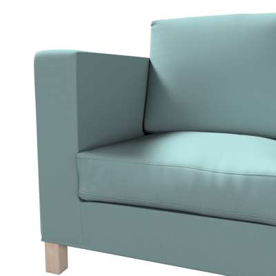 Karlanda klädsel <br>3-sits soffa - kort klädsel i kollektionen Panama Cotton, Tyg: 702-40