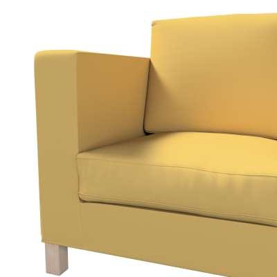 Pokrowiec na sofę Karlanda 3-osobową nierozkładaną, krótki w kolekcji Cotton Panama, tkanina: 702-41
