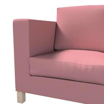 Pokrowiec na sofę Karlanda 3-osobową nierozkładaną, krótki w kolekcji Cotton Panama, tkanina: 702-43