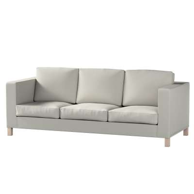 Pokrowiec na sofę Karlanda 3-osobową nierozkładaną, krótki w kolekcji Living, tkanina: 161-54