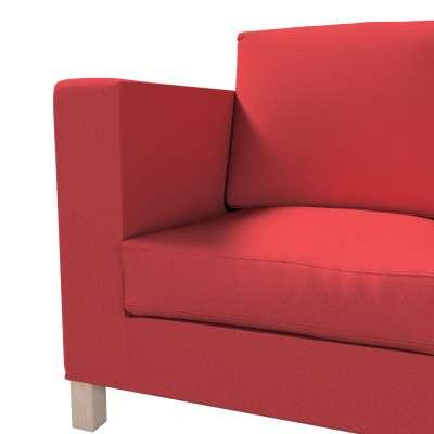 Pokrowiec na sofę Karlanda 3-osobową nierozkładaną, krótki w kolekcji Living, tkanina: 161-56