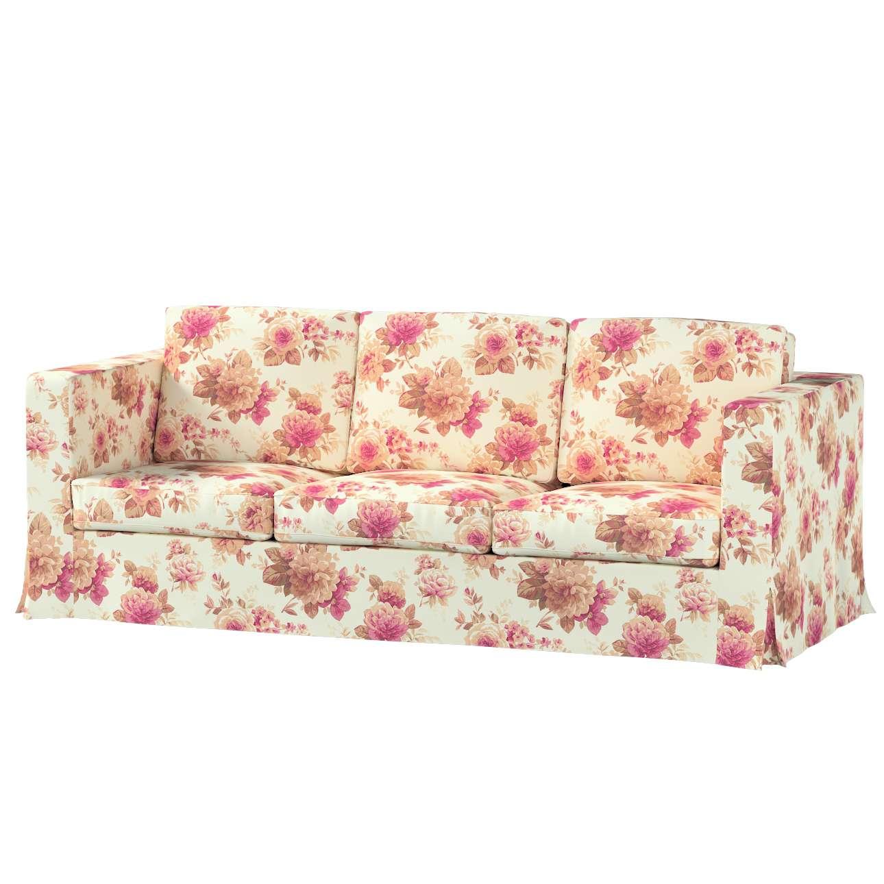 KARLANDA trivietės sofos iki žemės užvalkalas KARLANDA trivietės sofos iki žemės užvalkalas kolekcijoje Mirella, audinys: 141-06