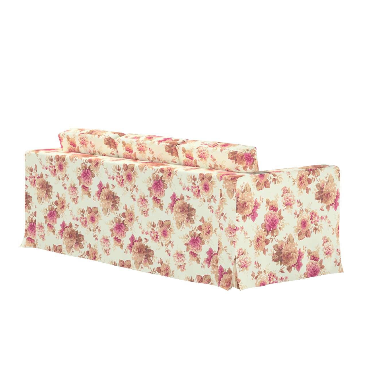 Pokrowiec na sofę Karlanda 3-osobową nierozkładaną, długi w kolekcji Mirella, tkanina: 141-06