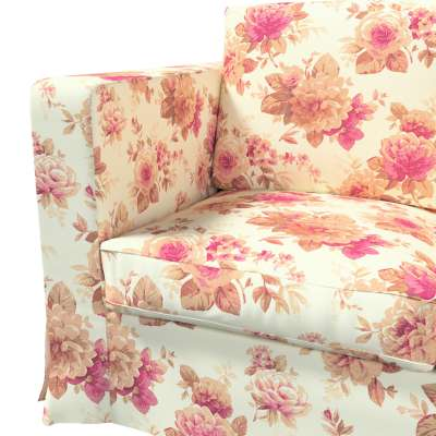 Pokrowiec na sofę Karlanda 3-osobową nierozkładaną, długi w kolekcji Londres, tkanina: 141-06