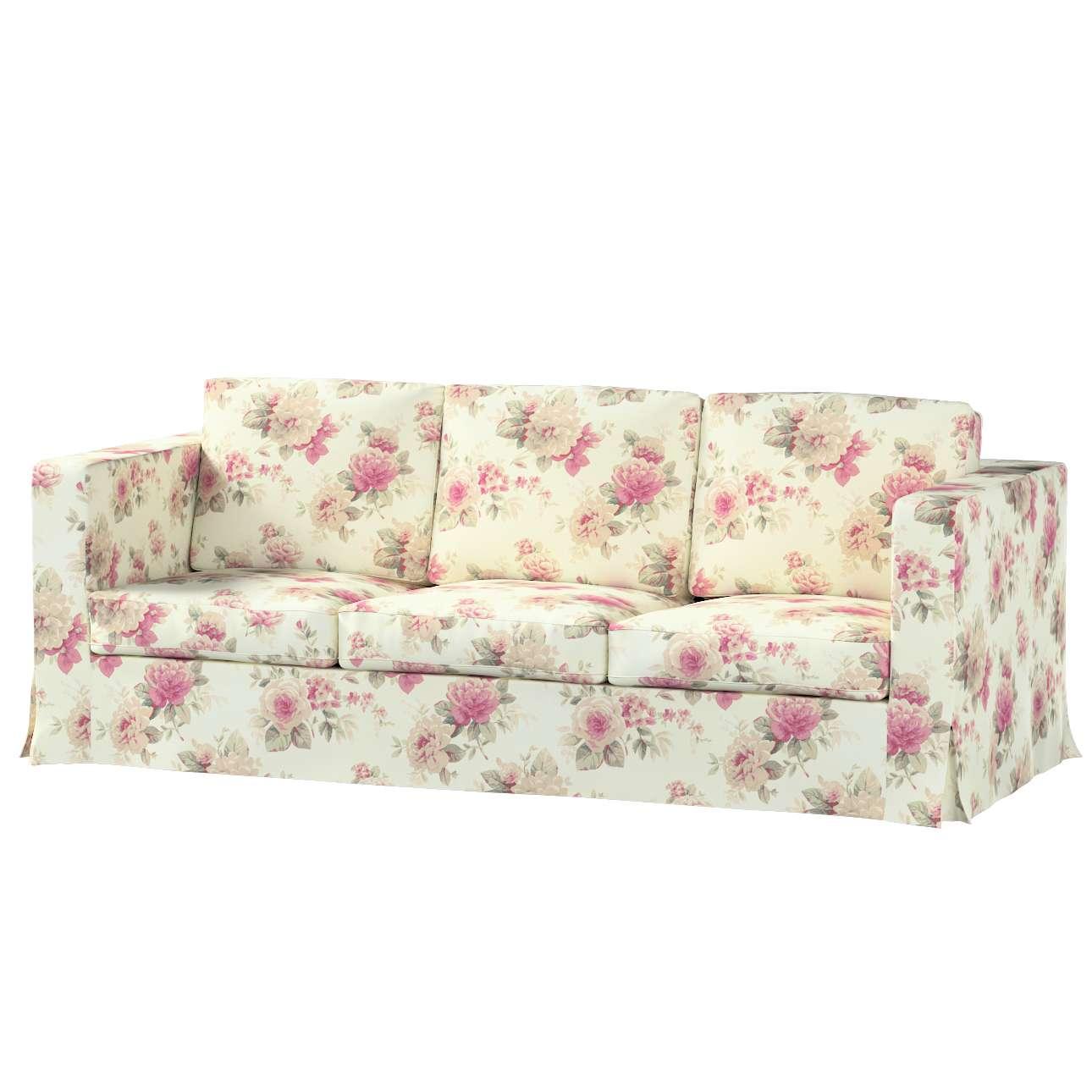 Pokrowiec na sofę Karlanda 3-osobową nierozkładaną, długi Sofa Karlanda 3-os w kolekcji Mirella, tkanina: 141-07