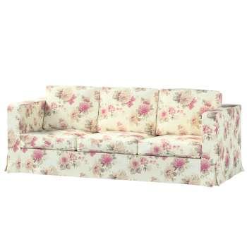 Pokrowiec na sofę Karlanda 3-osobową nierozkładaną, długi w kolekcji Mirella, tkanina: 141-07