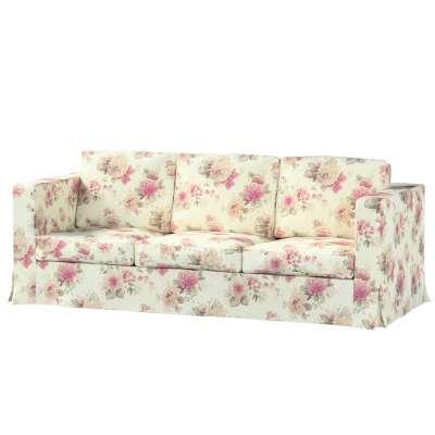 Bezug für Karlanda 3-Sitzer Sofa nicht ausklappbar, lang von der Kollektion Londres, Stoff: 141-07