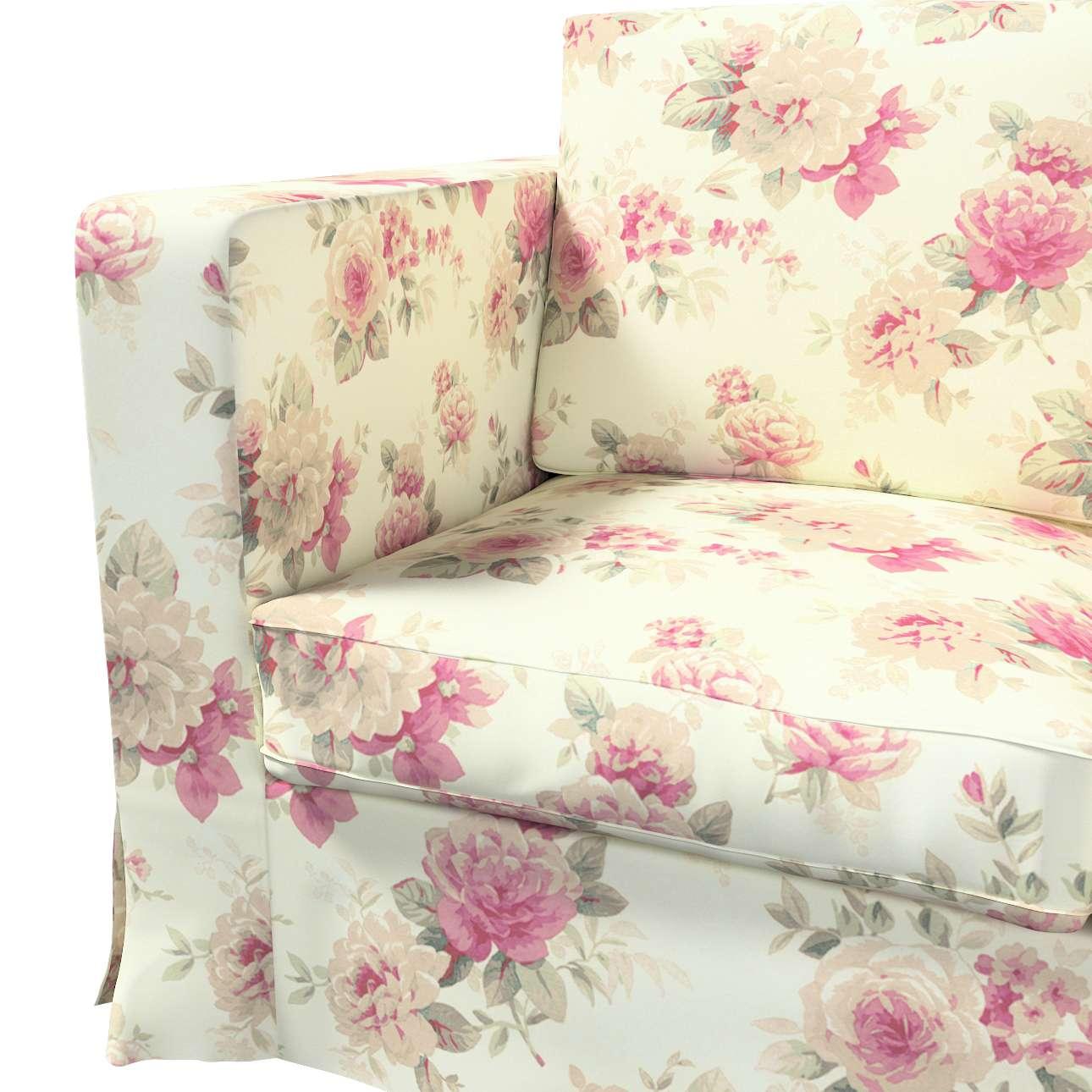 Pokrowiec na sofę Karlanda 3-osobową nierozkładaną, długi w kolekcji Londres, tkanina: 141-07