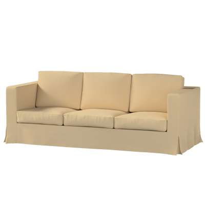 Karlanda klädsel 3-sits soffa - lång i kollektionen Panama Cotton, Tyg: 702-01