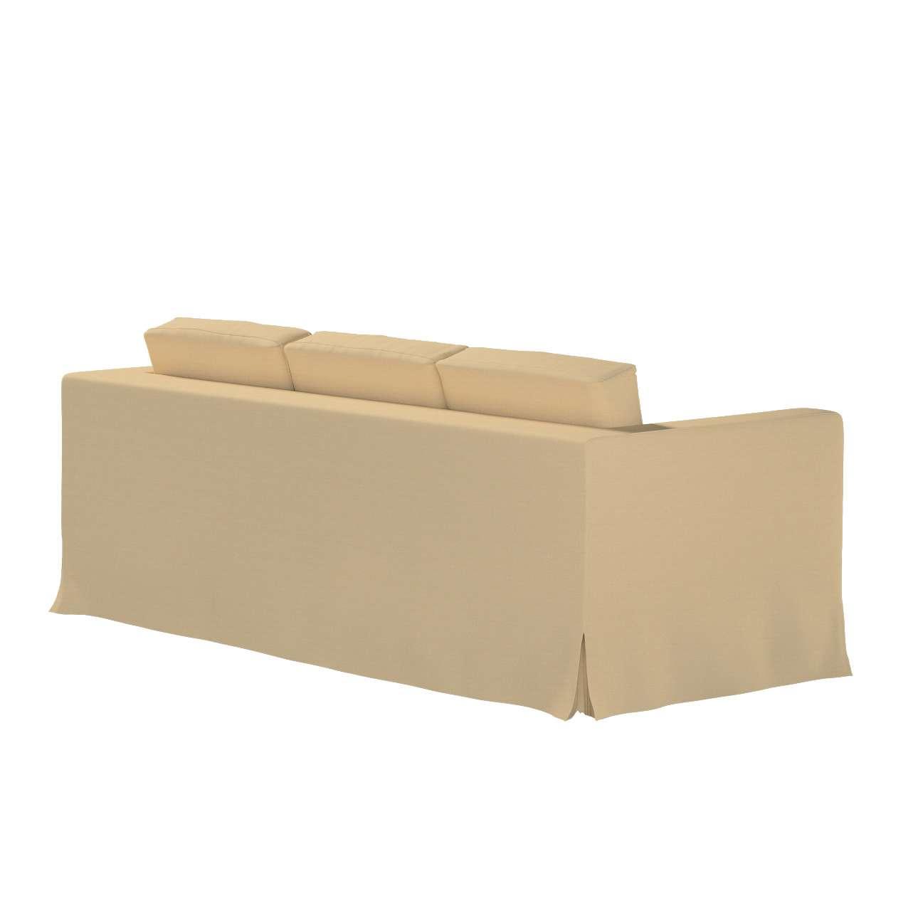 Potah na pohovku IKEA  Karlanda 3-místná nerozkládací, dlouhý v kolekci Cotton Panama, látka: 702-01