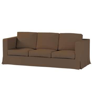 Pokrowiec na sofę Karlanda 3-osobową nierozkładaną, długi Sofa Karlanda 3-os w kolekcji Cotton Panama, tkanina: 702-02