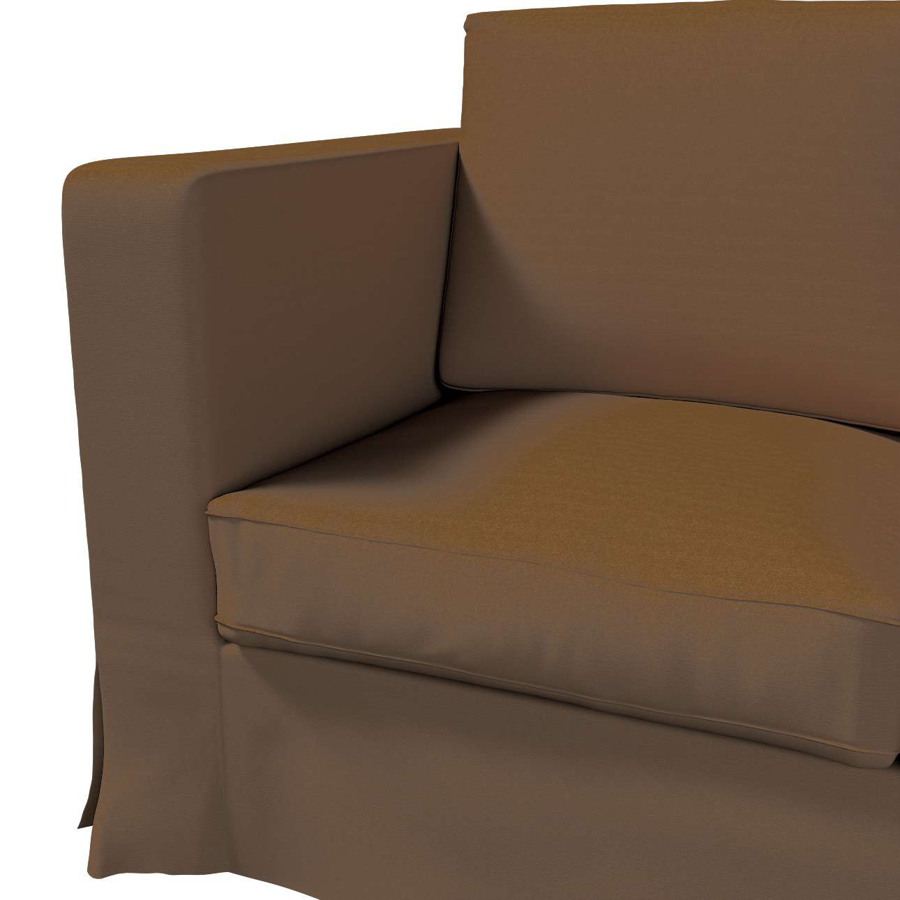 Karlanda klädsel 3-sits soffa - lång i kollektionen Panama Cotton, Tyg: 702-02