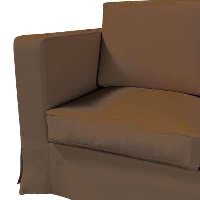Pokrowiec na sofę Karlanda 3-osobową nierozkładaną, długi w kolekcji Cotton Panama, tkanina: 702-02