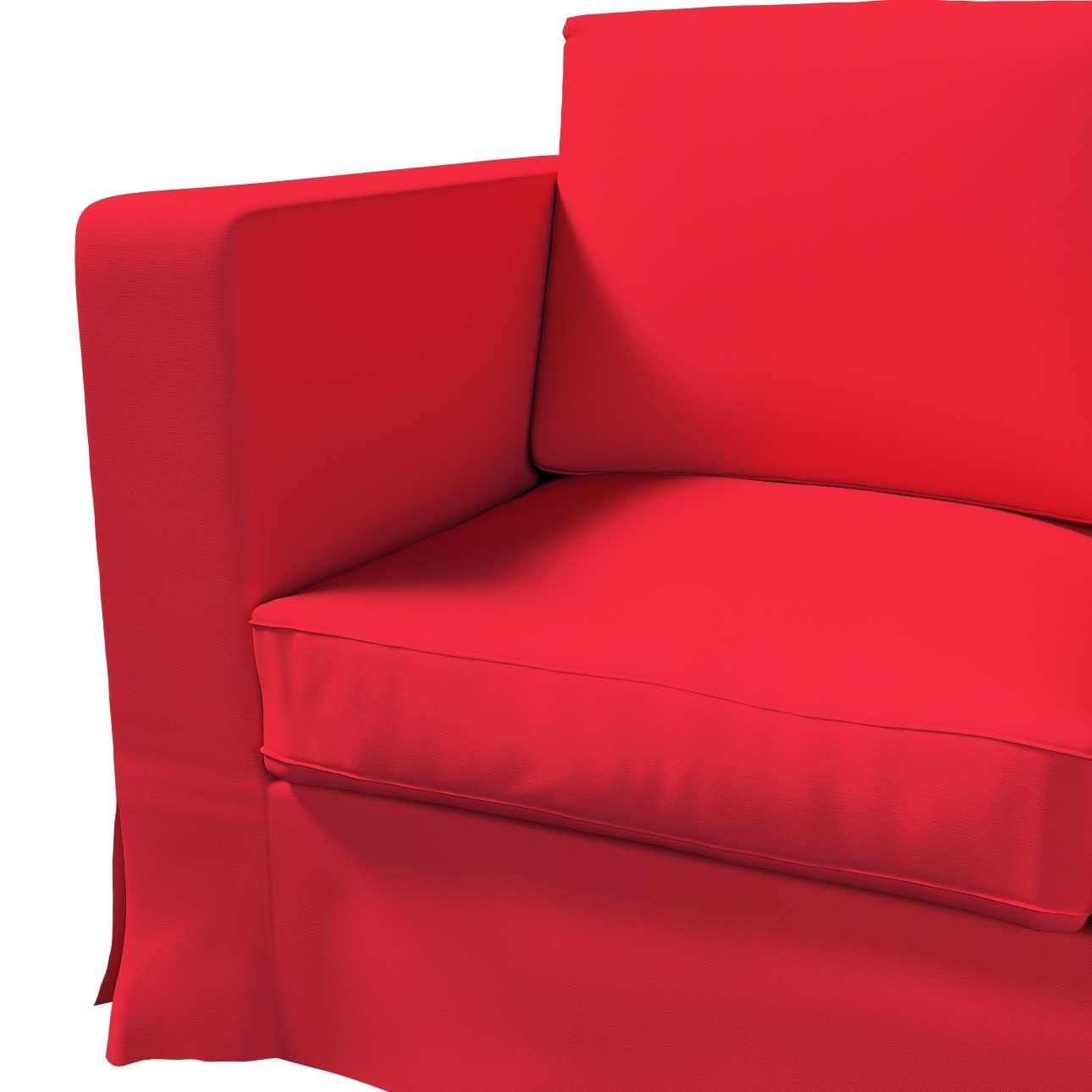 Karlanda klädsel 3-sits soffa - lång i kollektionen Panama Cotton, Tyg: 702-04