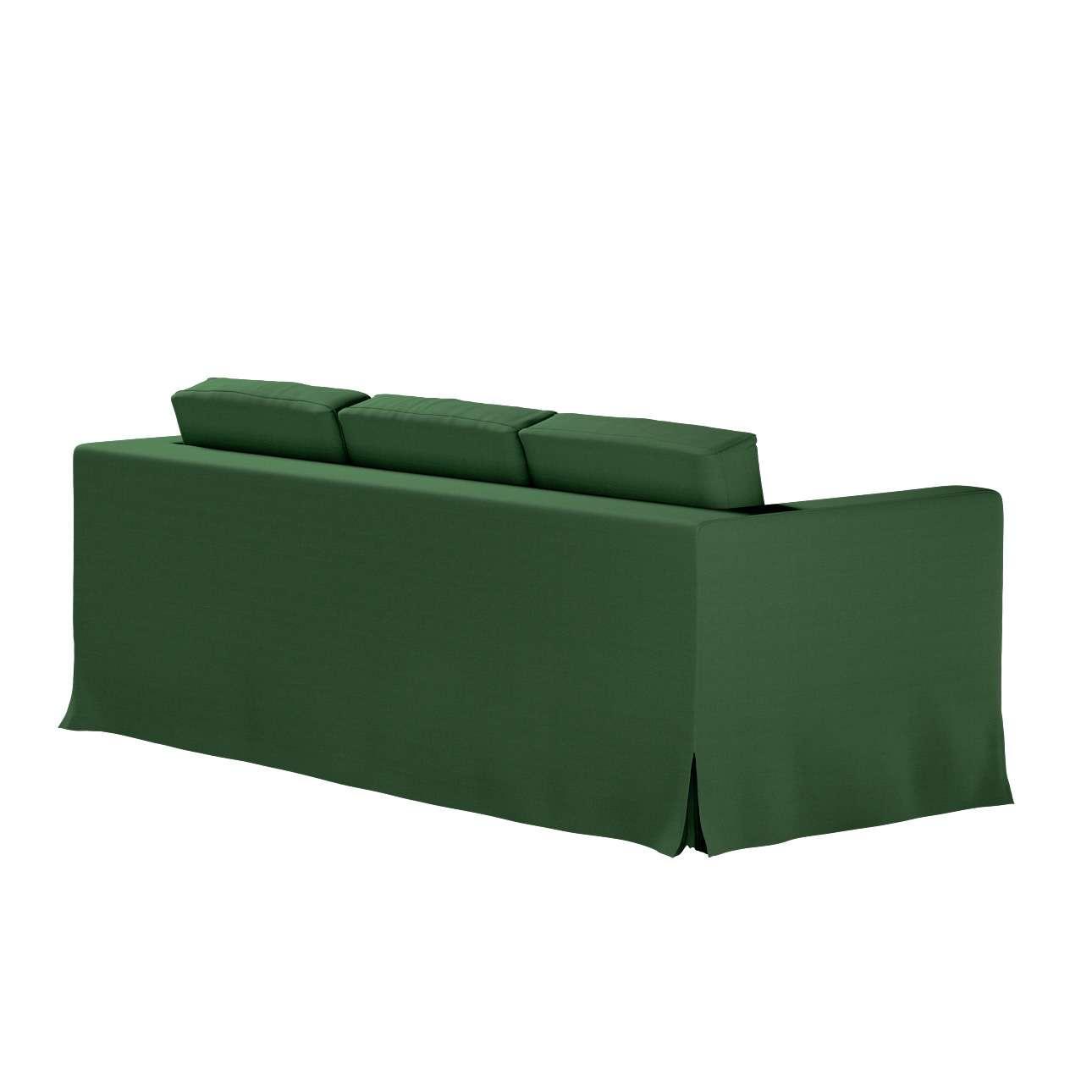 Karlanda 3-üléses  kanapé huzat nem kinyitható hosszú a kollekcióból Cotton Panama Bútorszövet, Dekoranyag: 702-06