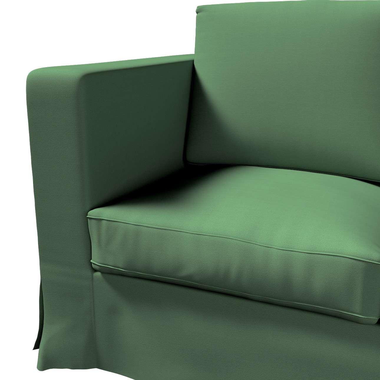 Karlanda betræk 3 sæder, lang fra kollektionen Cotton Panama, Stof: 702-06