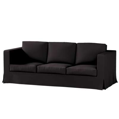 Karlanda klädsel 3-sits soffa - lång i kollektionen Panama Cotton, Tyg: 702-08