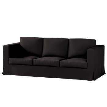 Pokrowiec na sofę Karlanda 3-osobową nierozkładaną, długi Sofa Karlanda 3-os w kolekcji Cotton Panama, tkanina: 702-09
