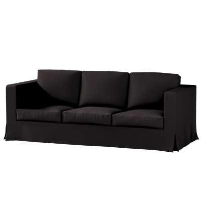 Karlanda klädsel 3-sits soffa - lång i kollektionen Panama Cotton, Tyg: 702-09