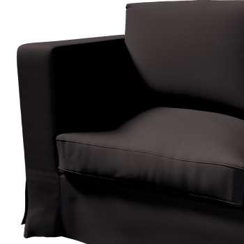 Karlanda 3-Sitzer Sofabezug nicht ausklappbar lang von der Kollektion Cotton Panama, Stoff: 702-09