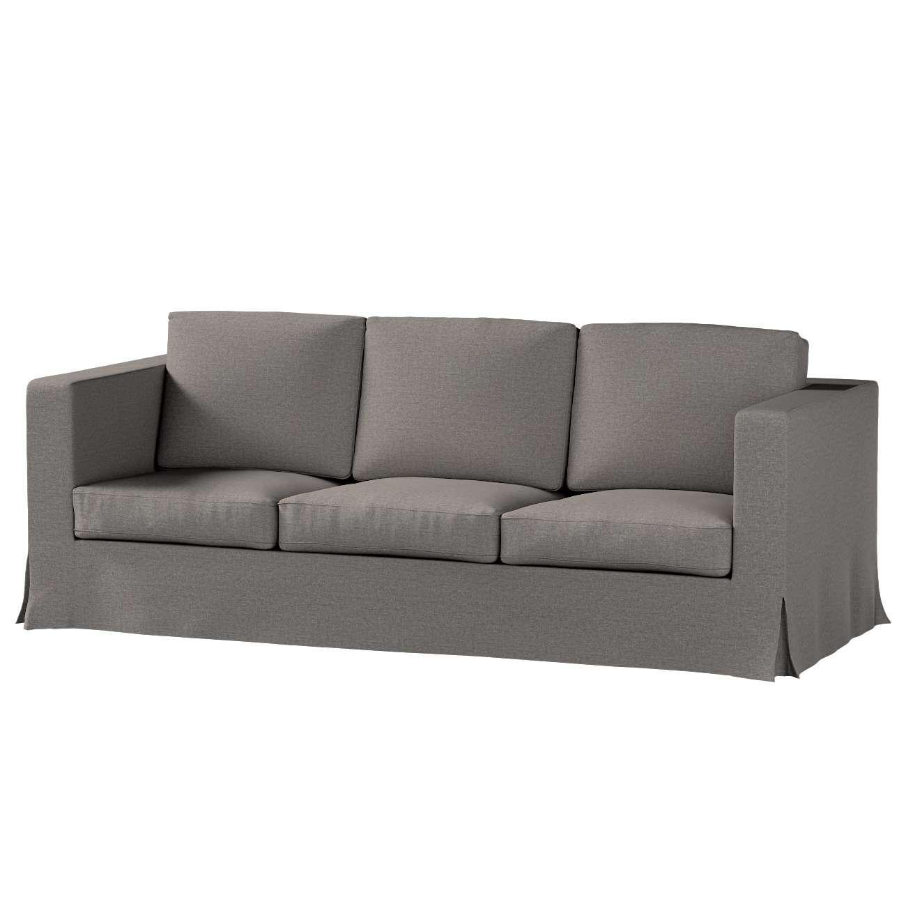 Potah na pohovku IKEA  Karlanda 3-místná nerozkládací, dlouhý v kolekci Edinburgh, látka: 115-77