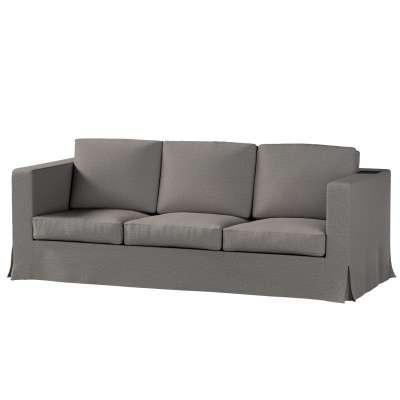 Pokrowiec na sofę Karlanda 3-osobową nierozkładaną, długi w kolekcji Edinburgh, tkanina: 115-77