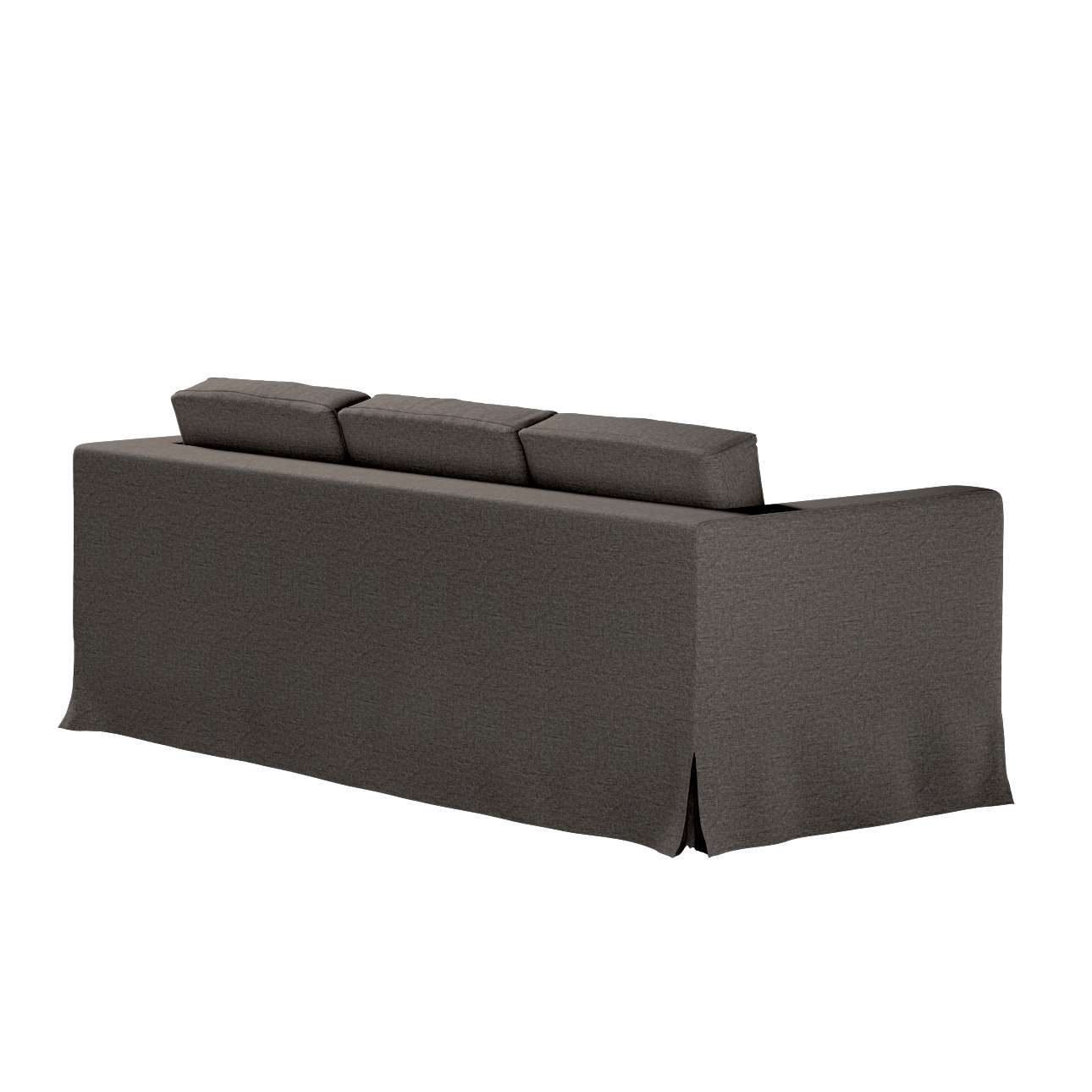 Karlanda 3-üléses  kanapé huzat nem kinyitható hosszú a kollekcióból Edinburgh Bútorszövet, Dekoranyag: 115-77