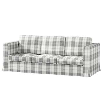 Potah na pohovku IKEA  Karlanda 3-místná nerozkládací, dlouhý pohovka Karlanda 3-os v kolekci Edinburgh, látka: 115-79