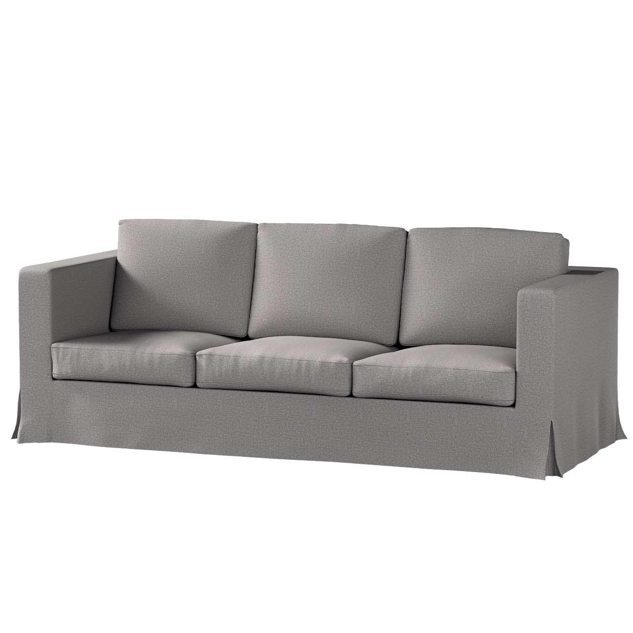 Karlanda 3-üléses  kanapé huzat nem kinyitható hosszú a kollekcióból Edinburgh Bútorszövet, Dekoranyag: 115-81