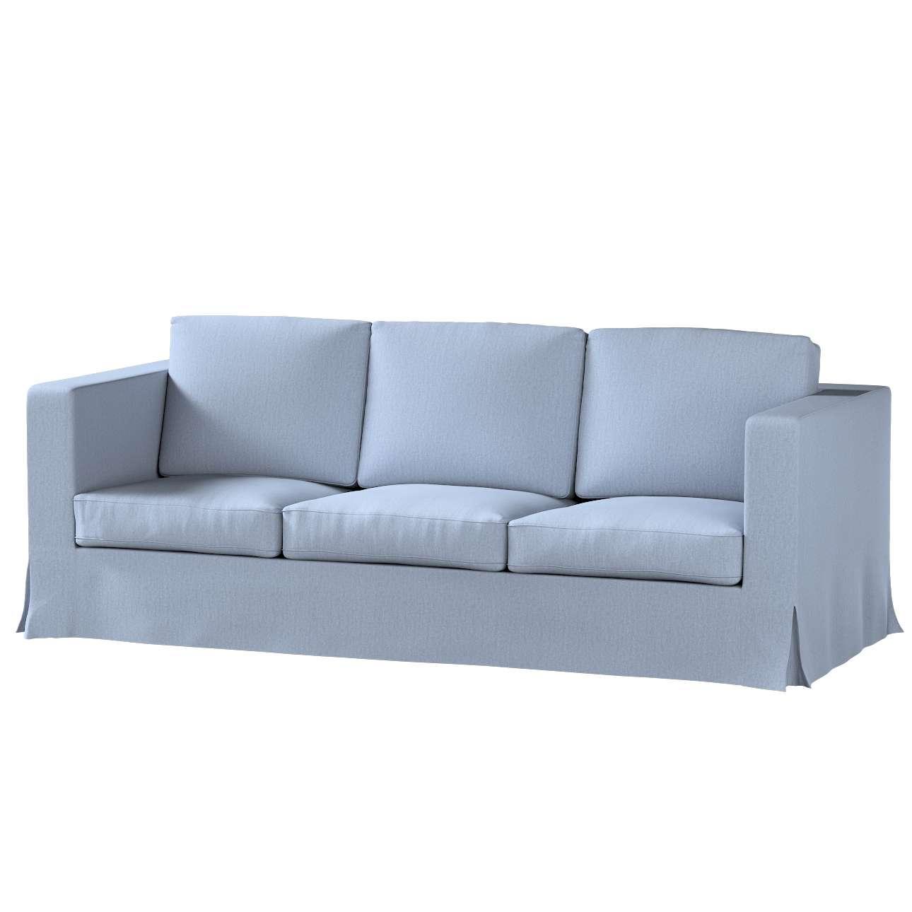 Potah na pohovku IKEA  Karlanda 3-místná nerozkládací, dlouhý v kolekci Chenille , látka: 702-13