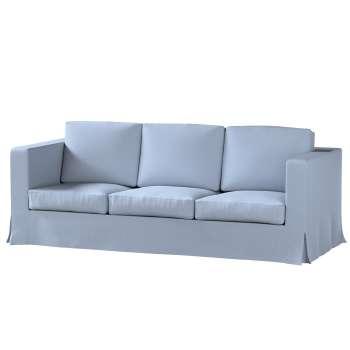 Pokrowiec na sofę Karlanda 3-osobową nierozkładaną, długi Sofa Karlanda 3-os w kolekcji Chenille, tkanina: 702-13
