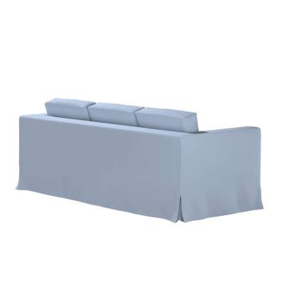 Karlanda klädsel 3-sits soffa - lång i kollektionen Chenille, Tyg: 702-13