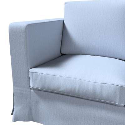Pokrowiec na sofę Karlanda 3-osobową nierozkładaną, długi w kolekcji Chenille, tkanina: 702-13