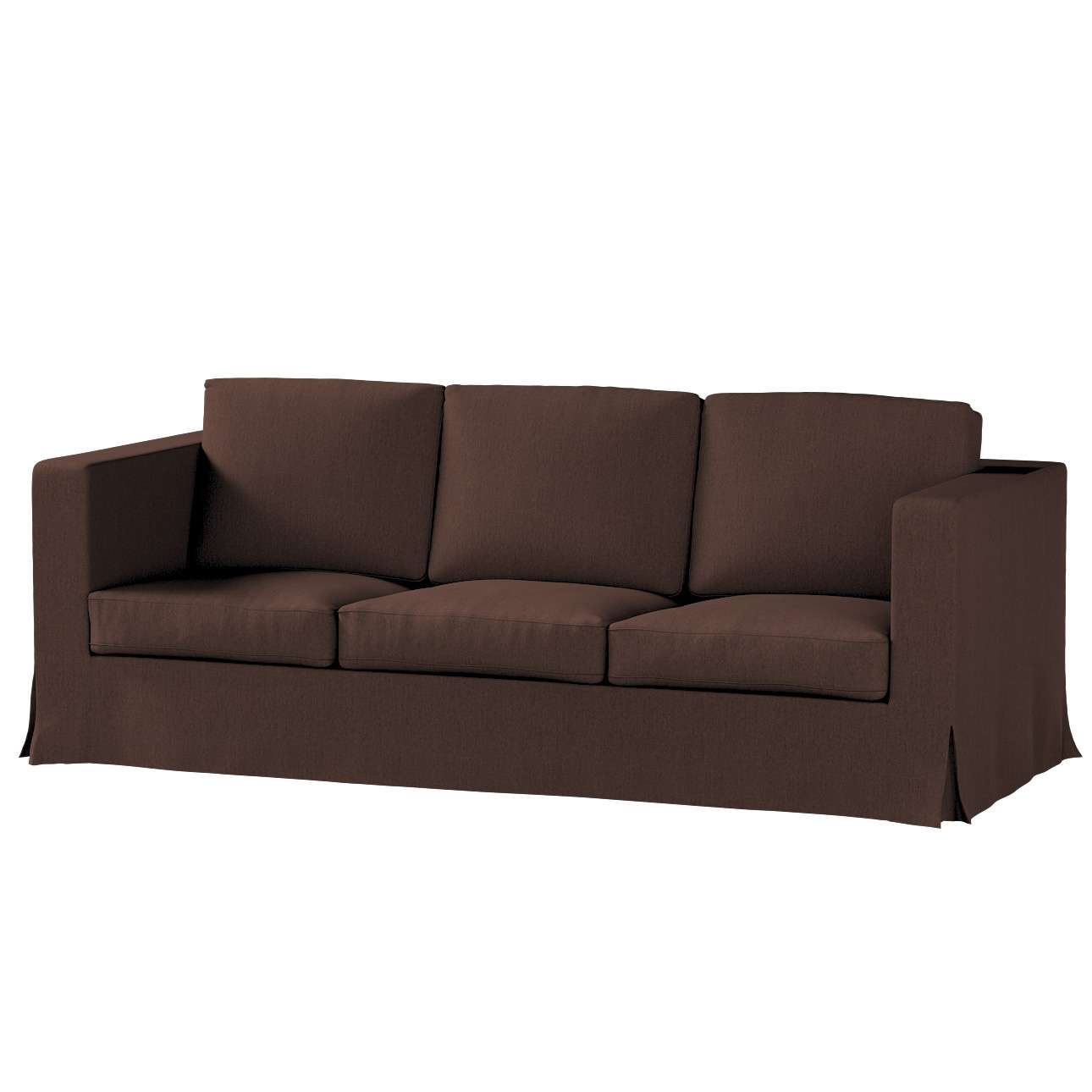 Potah na pohovku IKEA  Karlanda 3-místná nerozkládací, dlouhý pohovka Karlanda 3-os v kolekci Chenille , látka: 702-18